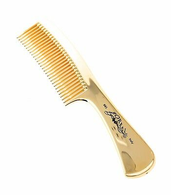 Boreal Italy Golden Comb - Hair Brush - Gold