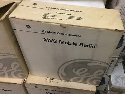 GE VHF 40 watt MVS mobile radio USA MADE NEW OLD STOCK NEW IN BOX! NOS