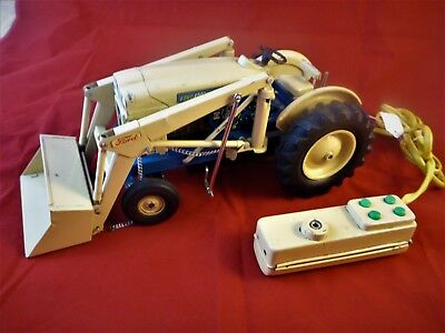 Cragstan HD 4000 Industrial Toy Ford Tractor, 1960s Alps Japan