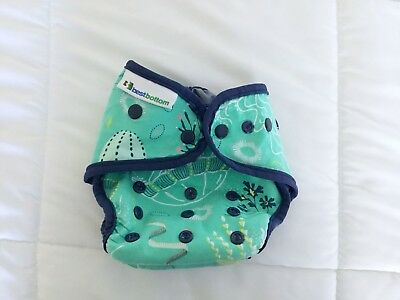 Best Bottoms Diaper Cover - Jelly Jubilee  - Double Gusset - One Size - Snaps