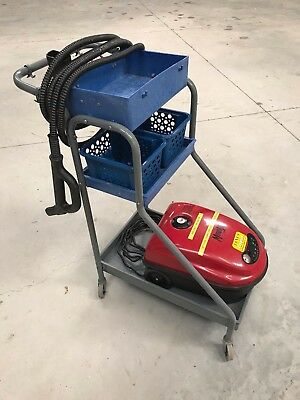 MondoVap 2400 Steam Cleaner with TANCS with rolling service cart and accessories