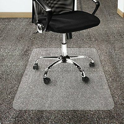 """36x48"""" Durable Plastic Carpet Chair Mat For Home Office Floor Protection Clear"""