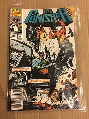 The Punisher #43 (1990; vf 8.0) fault free