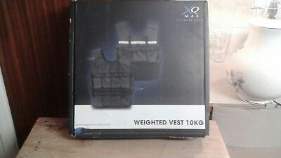 X Q Max 10kg Weighted fitness vest Boxed 1p start no reserve