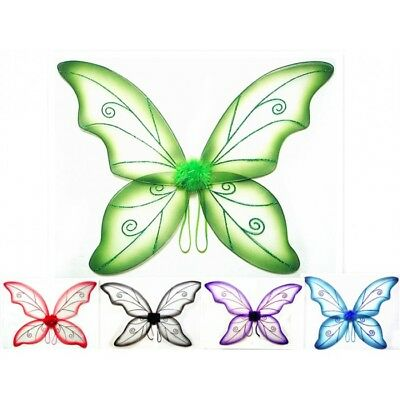 "Large Adult Fairy Butterfly Wing 34"" X 24"" Dance Wings"