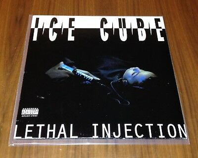 Lethal Injection Ice Cube original US vinyl 1993