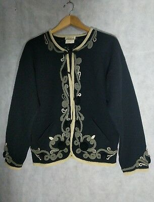 Matsuda Vintage Baroque Rope Ornate Cardigan Jacket Sweater