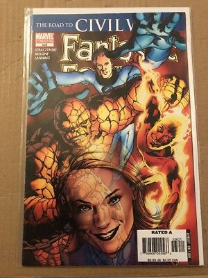 Fantastic Four 536 The Road To Civil War