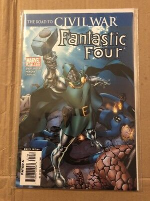 Fantastic Four 537 The Road To Civil War
