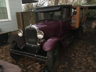 1929 Ford Model A  1929 Ford AA flatbed ratrod rat rod hot rod