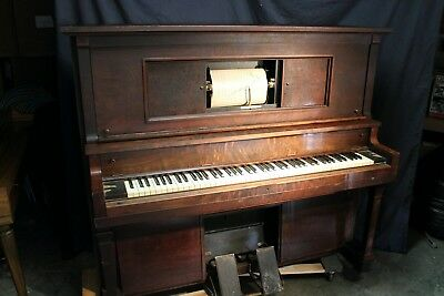Antique Player Piano fully restored!  Antique instrument, Grinnell Bros.
