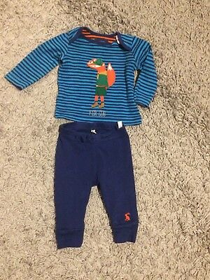 Joules Boys 0-3 Month Fox Outfit