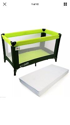 Thick Travel Cot Mattress for Hauck Dream N Play 119 X 59 x 7 cm corovin FOF