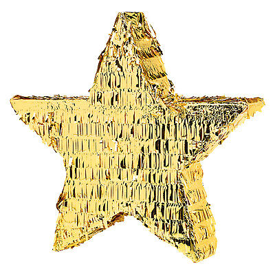 Gold Star Foil Pinata Hollywood New Years Christmas Gatsby Theme Party
