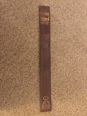 Shurpull New Discovery Special Cured Best Line Razor Strop M.K. MFG Chicago