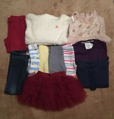 Children's Girls Bundle Of Clothes Ages 5-6 Years, 11 Items