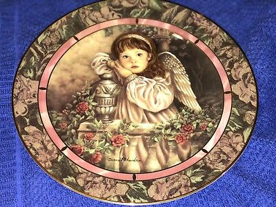 "1st Issue Gardens of Innocence ""Hope"" by Donna Richardson Bradford ExchangePlate"