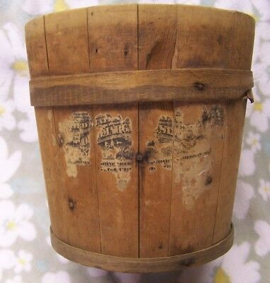 Collectible Old Wooden Dry Measure or Container - Antique? - Great Old Decor!