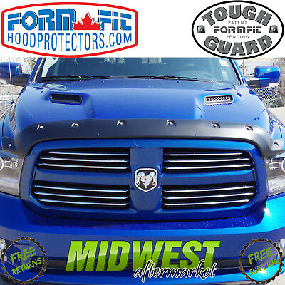 FormFit Smooth Tough Guard Hood Protector 2009-2018 Dodge Ram 1500