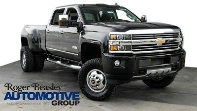 2016 Chevrolet Silverado 3500 High Country Crew Cab Pickup 4-Door 2016 CHEVROLET SILVERADO 3500HD HIGH COUNTRY 4X4 CUSTOM LIFT-WHEELS-TIRES