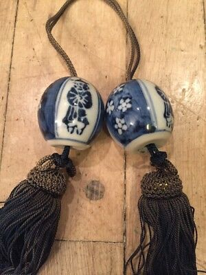 Nice Antique Embroidered Silk Tassel Native American?