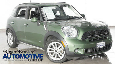 2015 Mini Cooper S S ALL4 Hatchback 4-Door 2015 MINI Cooper S All4 Countryman AUTO LEATHER ALLOYS ONE OWNER