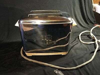 1946 Windsor old universal kitchen bread toaster with cord really good condition