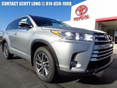 2017 Toyota Highlander New 2017 XLE Nav Sunroof Leather AWD New 2017 Highlander XLE AWD Navigation Heated Leather Sunroof Celestial Silver