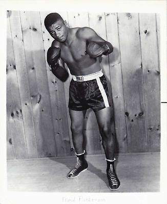 FLOYD PATTERSON 8X10 Photo BOXING BLACK AND WHITE PICTURE 4 LOT