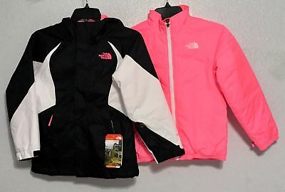 THE NORTH FACE Youth Girls Kira Triclimate 3-in-1 Ski Jacket - Girl's Size Large