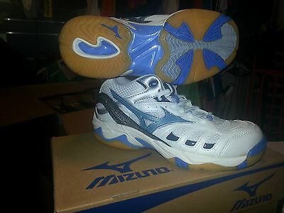 Shoe Volleyball Mizuno Wave Rally mid Woman 9KV-19722 Latest Piece-Discount 50%