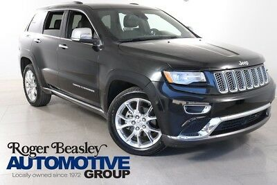 2014 Jeep Grand Cherokee Summit Sport Utility 4-Door 2014 Jeep Grand Cherokee Summit LEATHER NAV DUAL ZONE A/C ALLOYS V8
