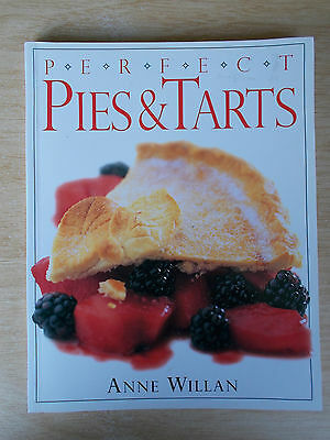 Anne Willan~Perfect Pies & Tarts~Recipes~Cookbook~128pp P/B~1997