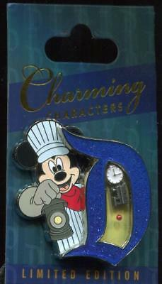 DLR Charming Characters Engineer Mickey LE Disney Pin 125235