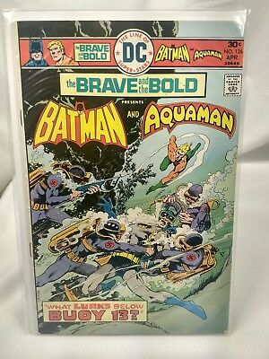 DC (1976) THE BRAVE AND THE BOLD #126 - April - Batman and Aquaman - 6.5 FN+