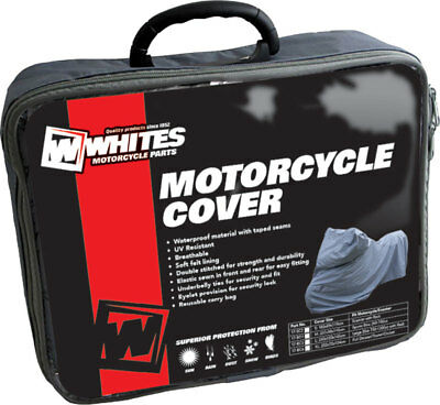 Wps Heavy Duty Soft Lined Motorcycle Cover. Large Suit 750 - 1300 Road Bikes