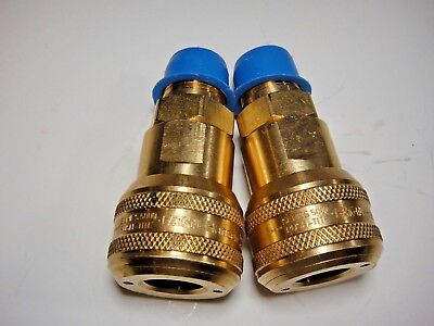 "Lot Of 2 Eaton Hansen 5000 Series Push-Tite Npt 1/2"" Connector Fitting  #29"