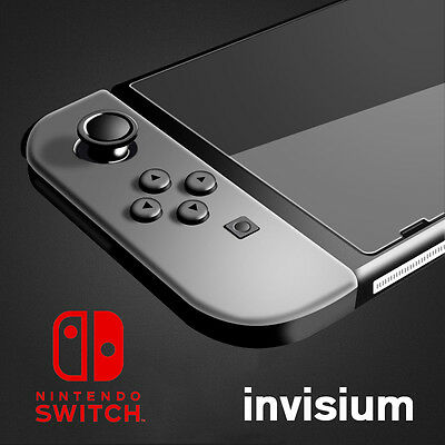INVISIUM Tempered Glass Screen Protector Film Guard Sheet For Nintendo Switch