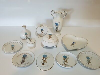 holly hobbie 11 pieces collectables (listing 1)