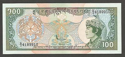 Bhutan 100 Ngultrum N.D. (1994); UNC; P-20; L-B209a; Palace; Printed in England