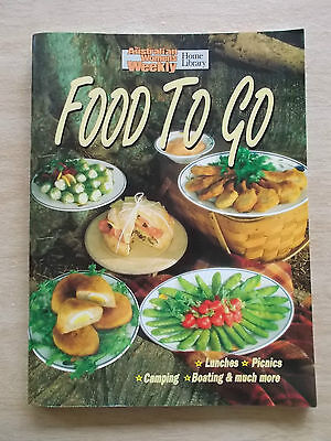 Australian Women's Weekly~Food To Go~Cookbook~Recipes~Picnics~Campfire~Boating