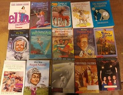 Lot of 60 Chapter Scholastic Disney RL 2 3 4 5 Child Books AR MIX UNSORTED #C25