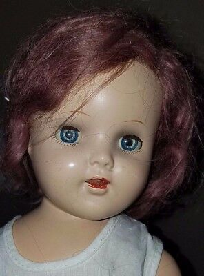 """1930's Arranbee Nancy Doll 20"""" Marked with Circle X Crier Composition and Cloth"""