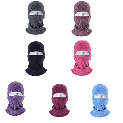 Baoblaze 6 in1 Balaclava Neck Winter Ski Mask Full Face Cap Motorcycle Warm Hat
