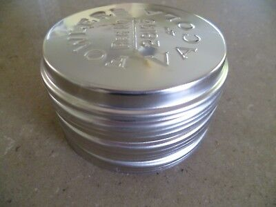 """Dozen Fowlers Vacola STAINLESS STEEL Preserving Jar LIDS Size 4"""" X12"""