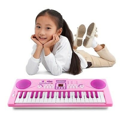 Sanmersen Kids Piano Keyboard Portable Electronic Digital Music Birthday Gift