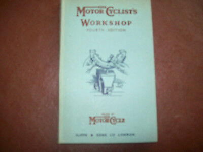 The motor cyclists workshop