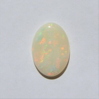 Natural Solid White / Light Opal 4.80Ct 17.7 X12.5 Loose Unset Stone Australian
