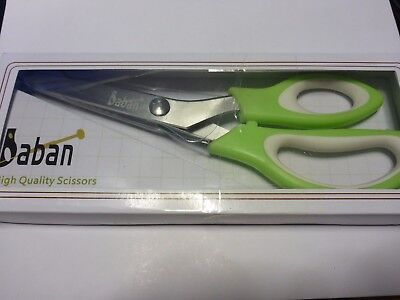 Baban Quality Pinking Shears Scissors Zigzag  Art Craft Tailor Stainless Steel