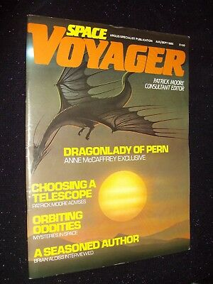 Space Voyager Mag:#16:august/sept 1985:doctor Who/neil Gaiman/gerry Anderson